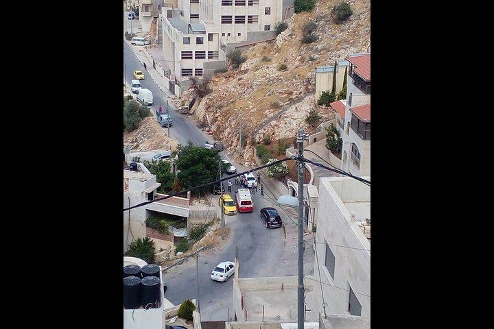 """بالصور: إصابة بحادث سير في نابلس """"محدث"""""""