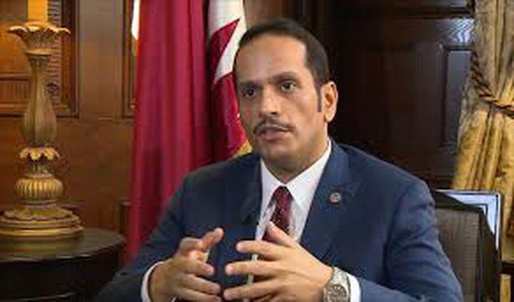 الوزﯾر القطري يطالب المحاصِرين بإثبات اتهاماتهم