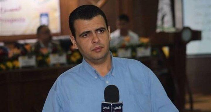"""الاتحاد الدولي للصحفيين يندد باعتقال """"حماس"""" لجرادة"""