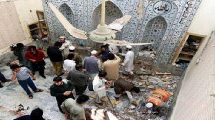 تفجير في مسجد مزدحم بالمصلين في افغانستان