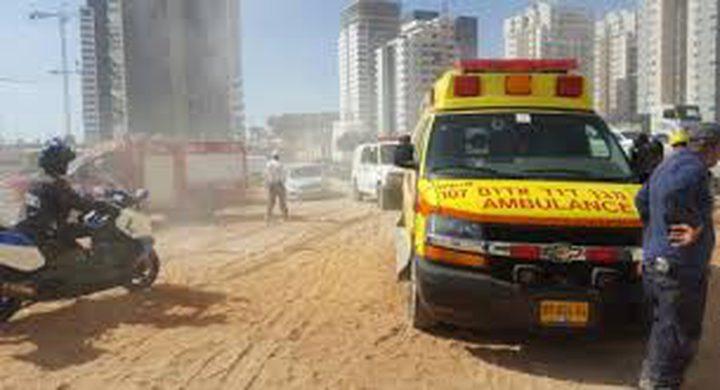 مصرع عامل سقط عن بناية في تل ابيب