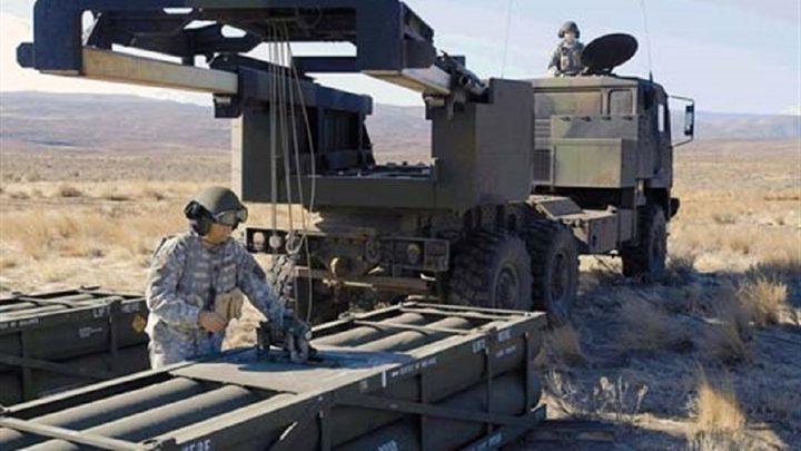 امريكا تنقل راجمات صواريخ الى سوريا