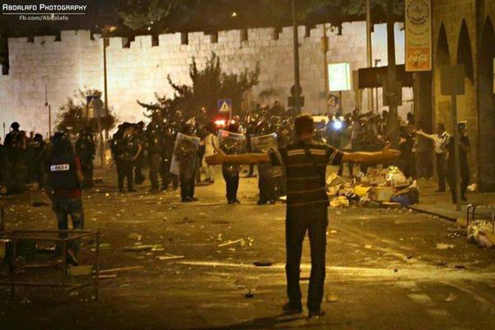 مواجهات واعتداءات في القدس