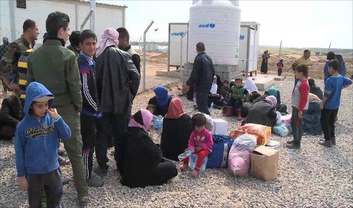 تنظيم الدولة يحتجز مئة ألف مدني بالموصل