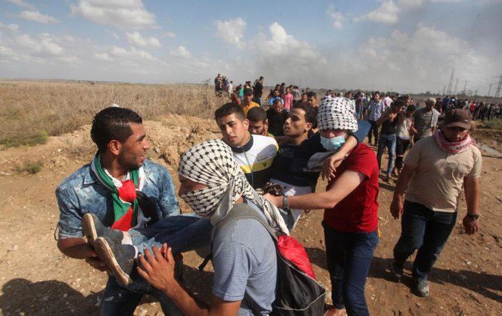 إصابات بالرصاص الحي في مواجهات شرق قطاع غزة
