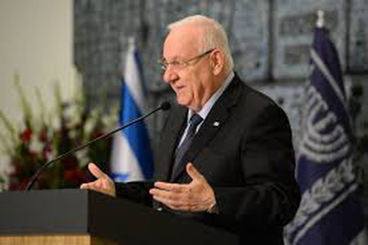 ريفلين: الجولان جزء لا يتجزأ من اسرائيل