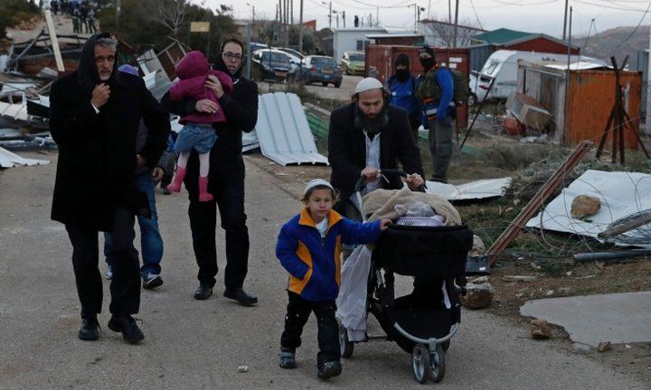 قانون يجيز للمستوطنين العودة للمستوطنات المخلاة