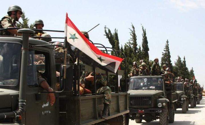 الجيش السوري يدمر مقرات قيادة لداعش بريف حماه