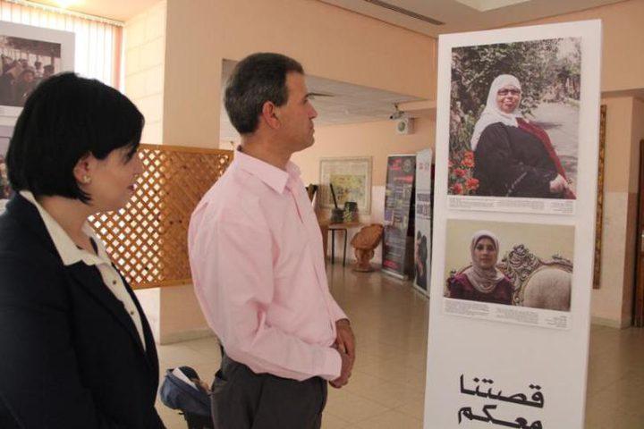 """افتتاح معرض صور للصليب الاحمر بعنوان """"قصتنا معكم"""""""
