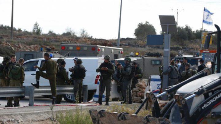 الاحتلال يزعم إصابة مستوطن بعملية طعن شرق نابلس