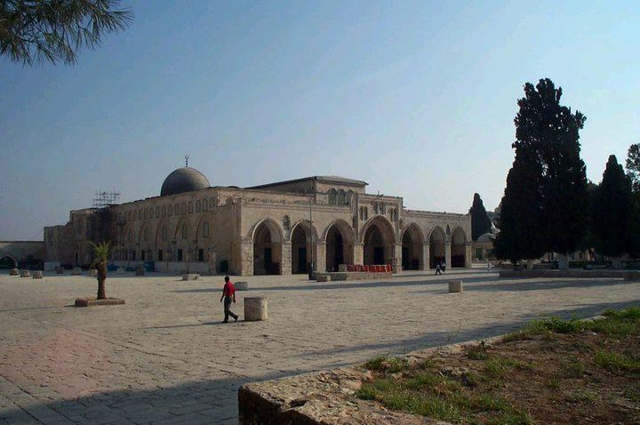 الخارجية تدين إغلاق الاحتلال للمصلى القبلي في المسجد الأقصى