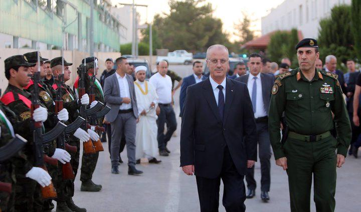 الحمد الله يشارك قوات الأمن الوطني في جنين إفطارهم (فيديو)