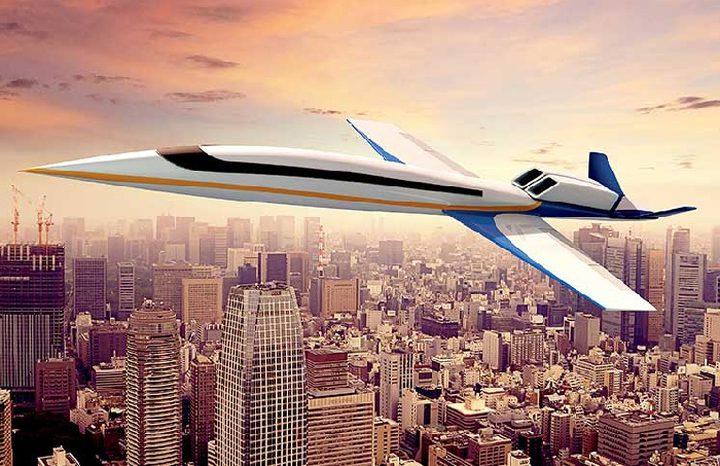 طائرات ركاب أسرع من الصوت اعتباراً من العام 2021
