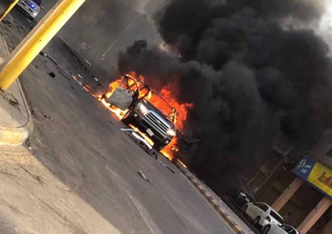 مقتل ضابط شرطة وإصابة (4) في انفجار عبوة بالقاهرة