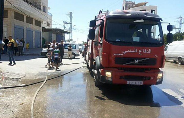 الدفاع المدني يتعامل مع 48 حادث حريق وإنقاذ