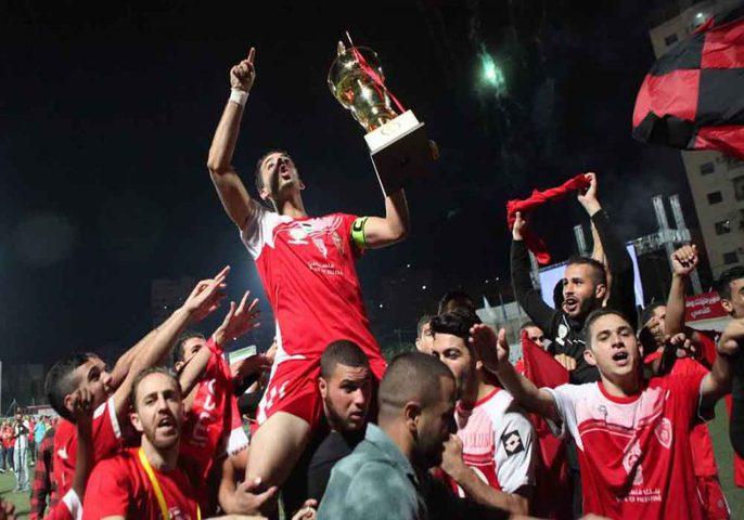 أهلي الخليل يتوج بلقب كأس فلسطين