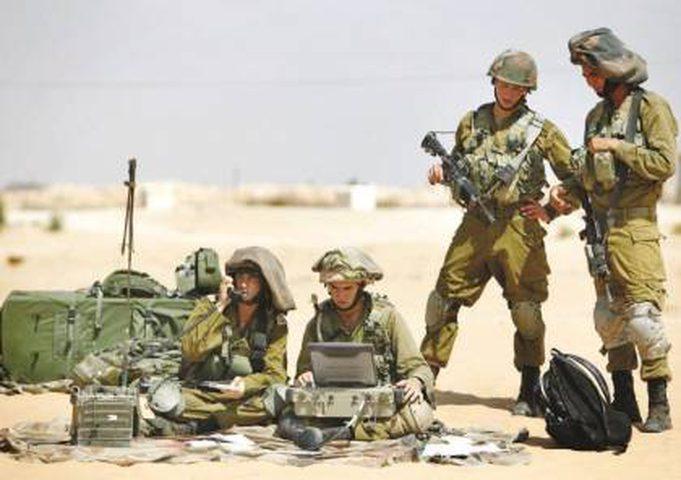 جيش الاحتلال يجري تدريبات عسكرية تحسباً لحرب شاملة