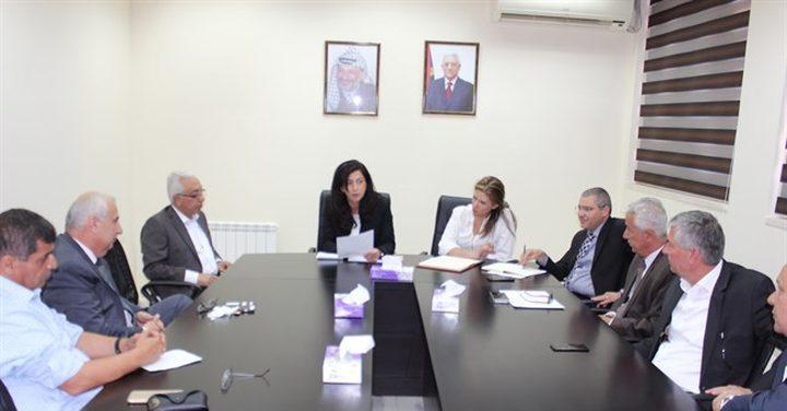 الاقتصاد يعقد مؤتمر لحث الاستثمار في فلسطين