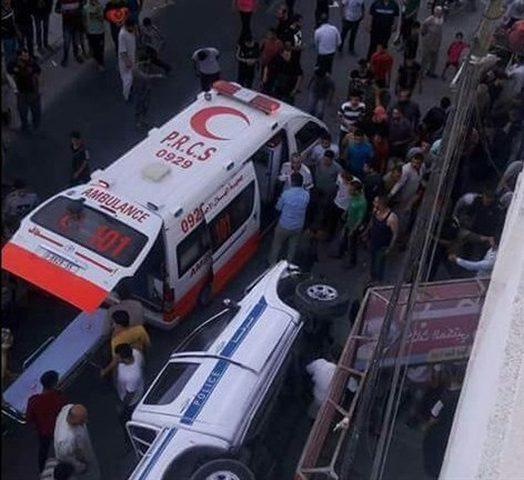مصرع شرطي مرور في غزة