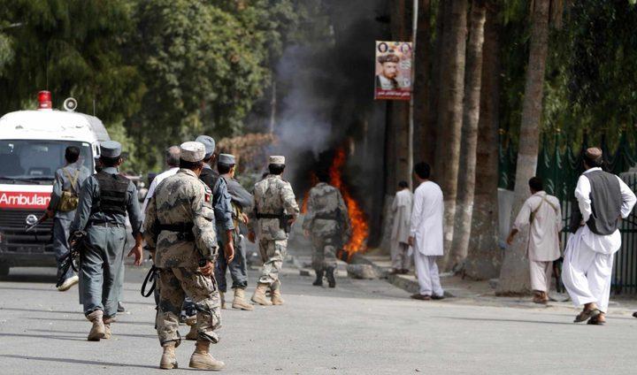 مقتل ثمانية عسكريين أفغان في هجوم مسلح