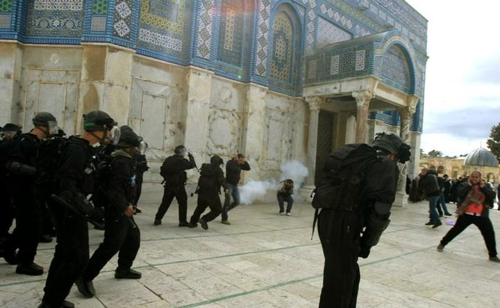 اتصالات أردنية مع الاحتلال لوقف اقتحامات الأقصى
