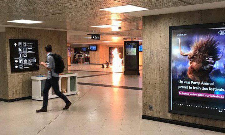 مقتل منفذ الهجوم على محطة قطارات ببروكسل (محدث)