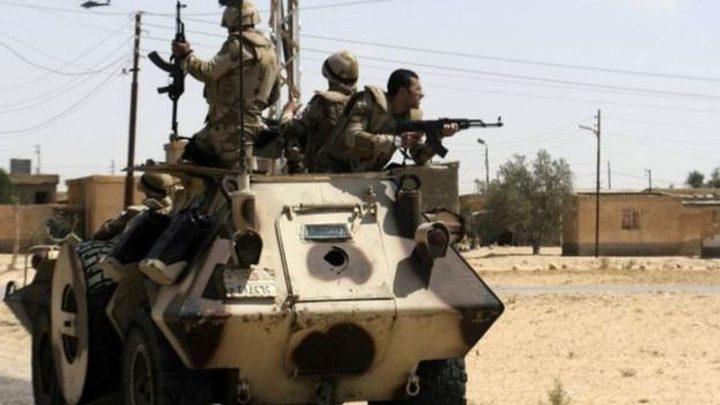 الجيش المصري يعلن قتل 12 من عناصر الجماعات الجهادية