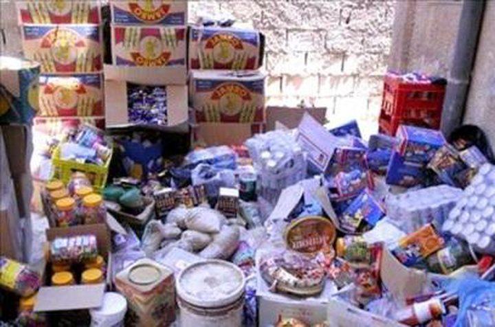 ضبط 114 طن مواد غذائية فاسدة منذ بداية رمضان
