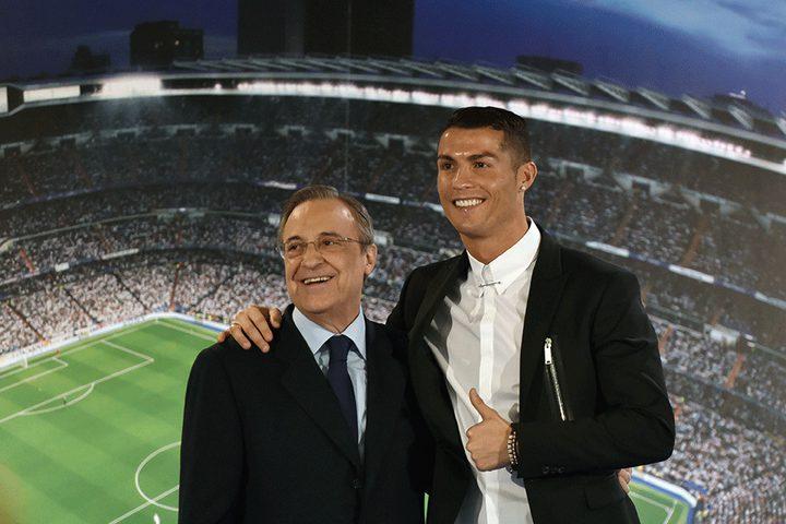 بيريز لا يتوقع رحيل رونالدو عن ريال مدريد