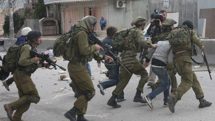اعتقال الاحتلال لـ(525) فلسطينياً خلال شهر