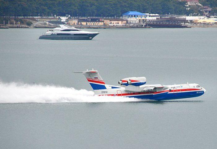 روسيا تضم طائرة برمائية مطورة لأسطول طائراتها