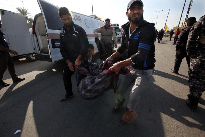 مقتل وإصابة 13 شخصا بقصف لطيران مجهول غرب العراق