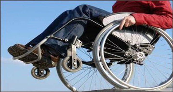 العشرات من ذوي الإعاقة يغلقون شارعًا في اسرائيل