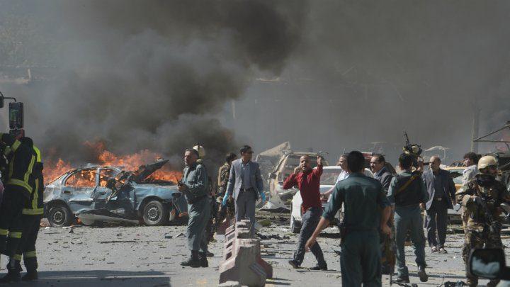 عشرات القتلى والجرحى بانفجار في افغانستان