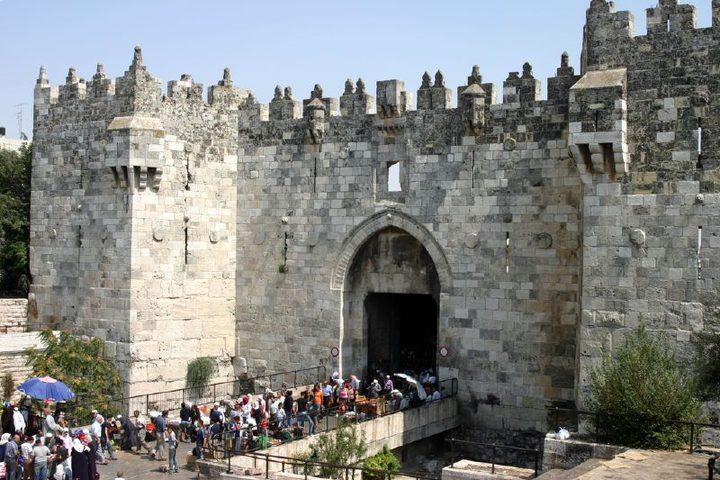إسرائيل تقر تغيير تصميم باب العامود