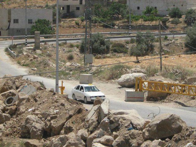 الاحتلال يغلق سدة الفحص جنوب الخليل