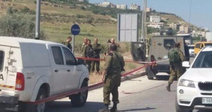 الاحتلال يفك الحصار عن قرية دير أبو مشعل