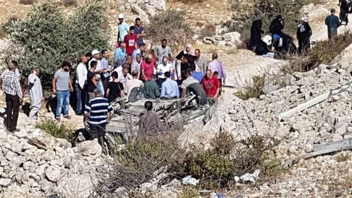 مصرع ثلاثة مواطنات جراء حادث سير قرب رام الله