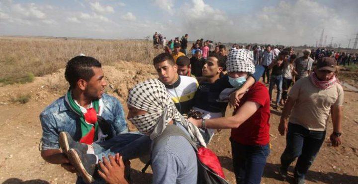 اصابة 4 مواطنين خلال مواجهات مع الاحتلال
