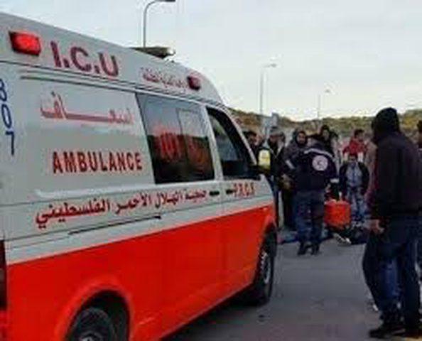 تسع إصابات بحادث سير شمال طولكرم