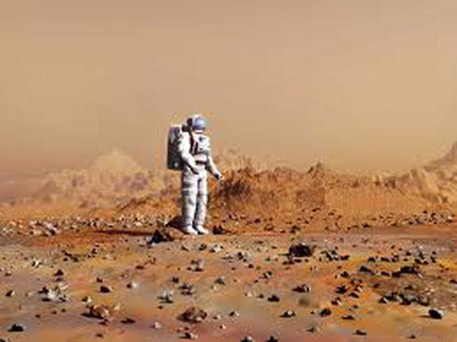مشروع جديد لبناء مدينة على المريخ