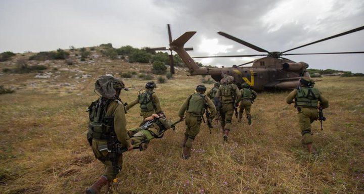 مناورة عسكرية بغلاف غزة غدا