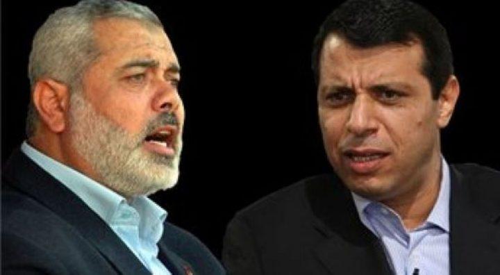 وثيقة مسربة عن لقاءات حماس - دحلان