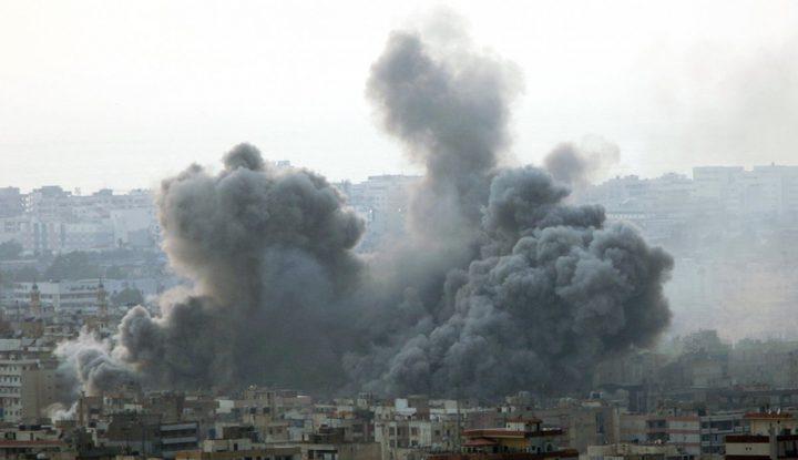 شهداء وجرحى بقصف اسرائيلي للاراضي السورية