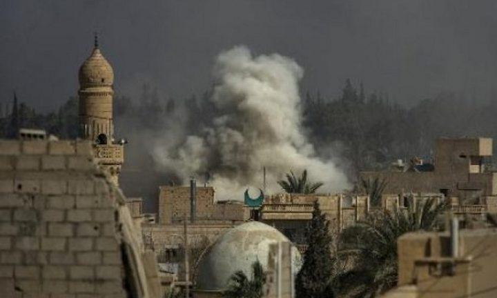 مقتل 57 مدنيًا في ضربة للتحالف الدولي على سوريا