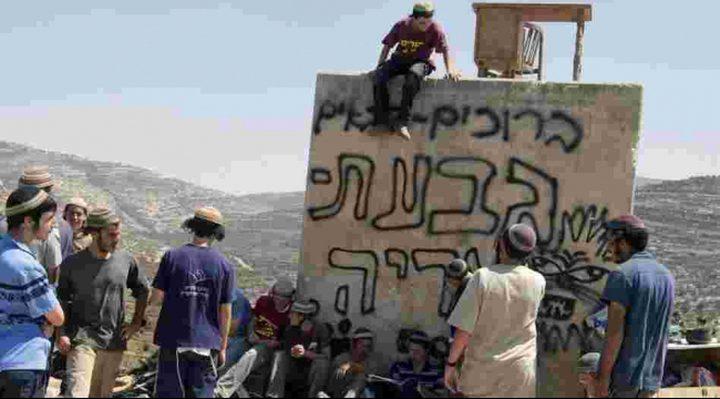 """حاخام """"شبيبة التلال"""" يحرض طلابه على الإرهاب"""