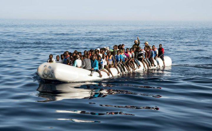 إنقاذ اكثر من 8000 مهاجر خلال 48 ساعة