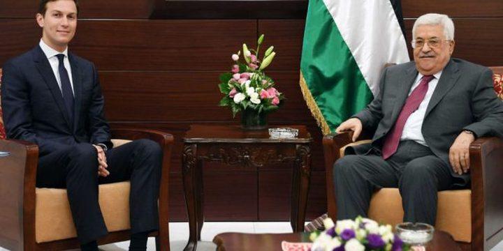 البيت الأبيض ينفي حدوث توتر اثناء لقاء عباس – كوشنر