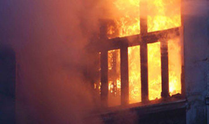احتراق مسجد بتماس كهربائي جنوب الخليل