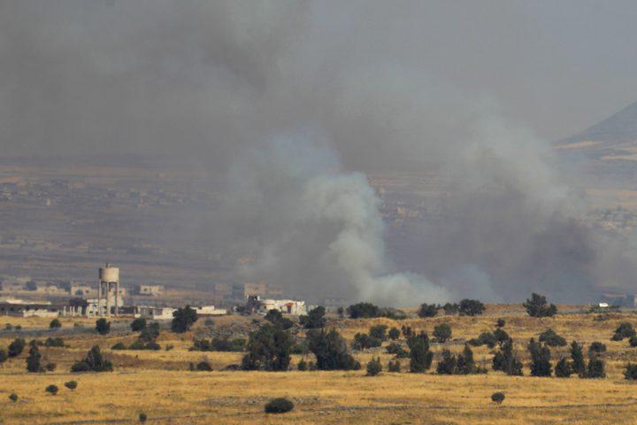 إسرائيل تقصف موقعًا للجيش السوري